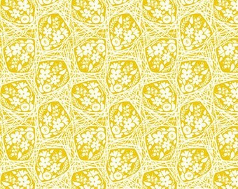 True Colors by Anna Maria Horner for FreeSpirit / Haystack Bouquet in Sunny / 1 yard