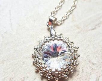 Swarovski 14mm Rivoli necklace