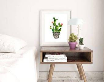 Cacti Print - Succulent Print