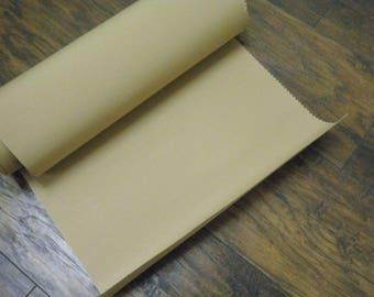 Remnant Strip of Tan Sunbrella Fabric, Canvas Fabric