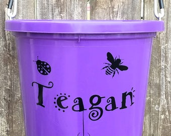 Horse lovers game etsy beach buckets easter gifts gifts for kids personalized buckets negle Image collections