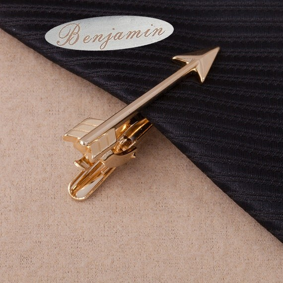 personalized arrow tie,customtieclip,Arrow TieClip,ArcheryTieBar,HeroAccessories,Novelty Accessories,GiftForMan,Father'sDayGift