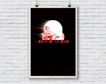 dawn of the dead A3  fine art print ideal for framing