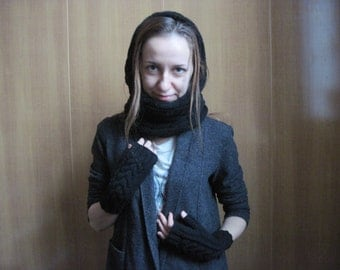 For Women Accessory Gift-for-her Winter Scarf Birthday gift Accessories Snood Women scarf Knitted-infinity scarf Girl gift Tube ladies scarf