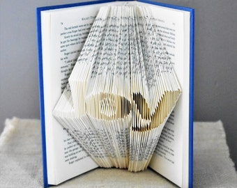 Easter Decorations, Folded Book, Christian Easter Decor, Inspirational Gift