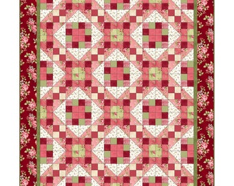 FLANNEL - Welcome Home 2- Quilt Kit -  Maywood Studio by Jennifer Bosworth