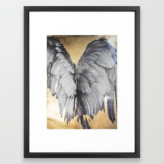 Wings - Framed Paper Print