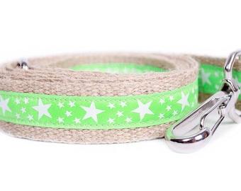 Dog collar / leash NEON GREEN