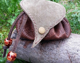 Small leaf round bag