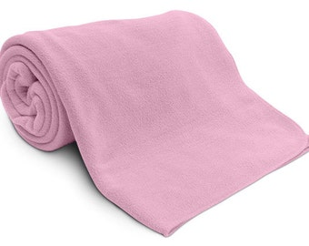 "Personalized Fleece Blanket, 50"" x 60"""