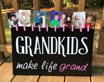 Grandkids picture display