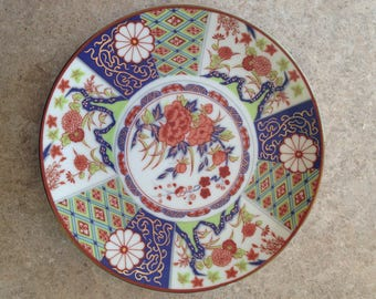Imari Stly wall Plate 6.5'' around