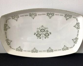Franciscan Heritage Oval Platter