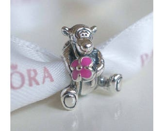 Disney 2017 TIGGER CHARM / New / Sterling Silver s925 / Threaded / Fully Stamped / See Details on Shipping