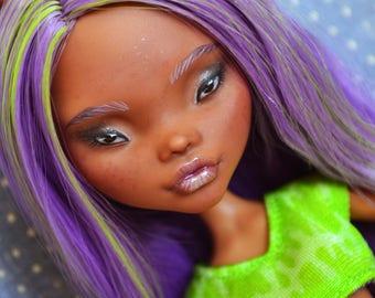 SALE Custom Monster High Doll OOAK Clawdeen Wolf