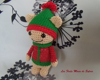 Mini Christmas Lalylala crochet