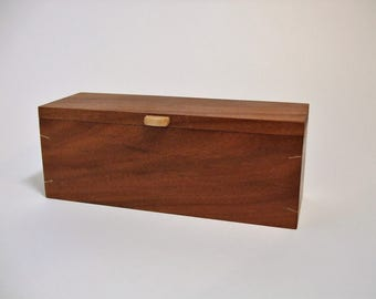 mahogany jewellery box