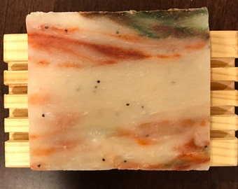 Handmade Cold Processed Vegan Christmas Cheer Soap