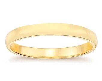 4.1mm 14K Yellow Gold Men's Wedding Band