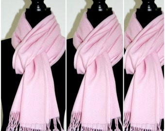 100% Pure Cashmere Scarf High Quality, Ultra Fine Muffler Light and Warm for Winter