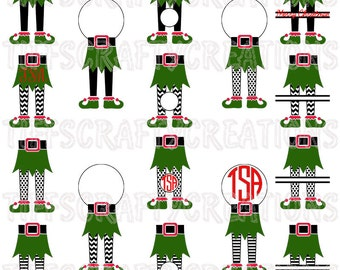 Christmas Elf SVG, elf svg files, elf files, elf png, elf svg cricut, elf cut files, elf silhouette, elf svg, elf legs, dfx/eps/svg/studio3