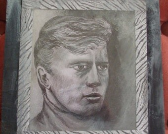 Portrait of Willie Loomis from Dark Shadows