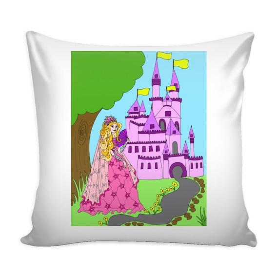 Pillow Cover - Princess Castle