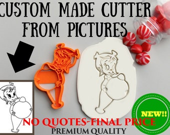Custom Cookie Cutter From Picture.Personalized Cookie Cutter.Brand New.Perfect Gift.Party Favor