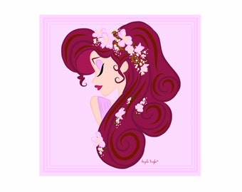 Megara - Wreath of Cherry Blossoms