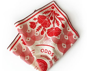 Poppy Bandana – Poppy Red