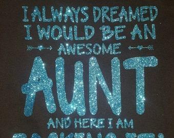 Awesome Aunt Rocking It Shirt