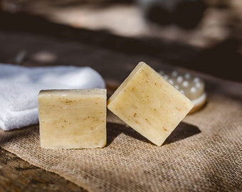 Buy 1 Get 1 FREE Muscle relaxing Handmade Lemongrass Soap