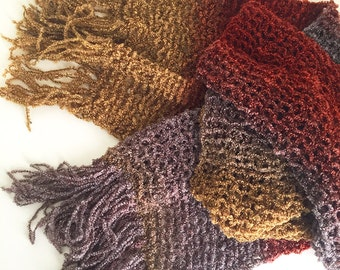 Handmade Cozy Knit Scarf