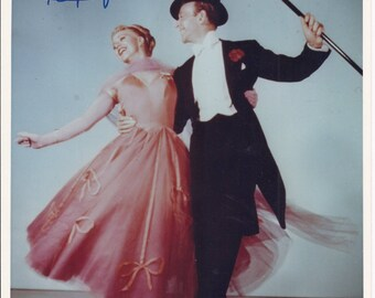 Picture of Ginger Rogers and Fred Astaire Signed and Paper Enclosed - pre-owned (SS)