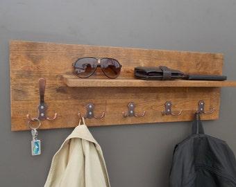 Modern Wall Coat Rack modern key rack   etsy