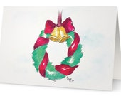 6 pack Blank Holiday Cards