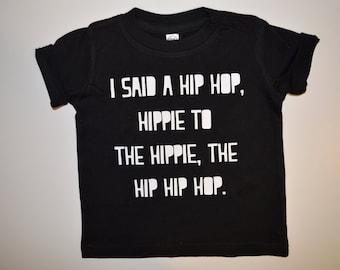 Hip Hip Hop - Infant T-Shirt, Infant Bodysuit, Toddler T-Shirt, Easter