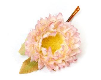 Flower, hair flower Bobby pin