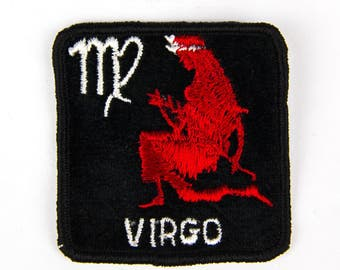 Virgo Horoscope Vintage Patch