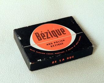 Vintage Game of Bezique and Polish Bezique by De La Rue