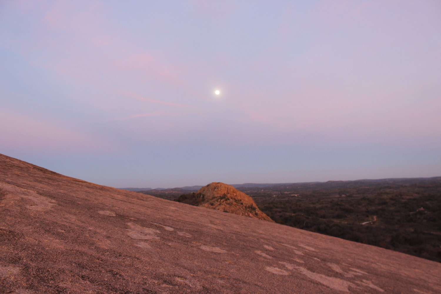 Moon Enchanted Rock