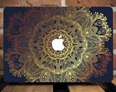 Gold Henna MacBook Pro Hard Case MacBook Air Hard Case MacBook Pro Case 13 inch MacBook Air Case 11 inch Macbook Pro Cover MacBook Air Cover
