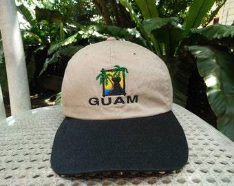 Rare Vintage GUAM | Hawaii Headwear Cap Hat Free size fit all