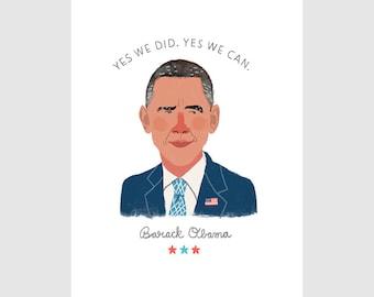 Obama Quote Print