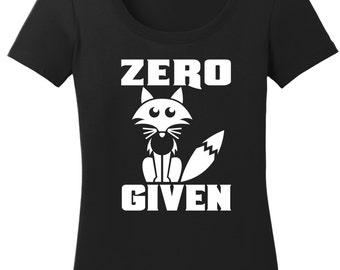 Zero Fox Given Shirt