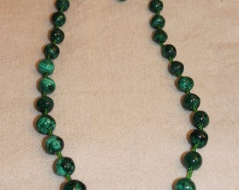 Malachite - Collier, high-quality healing stone