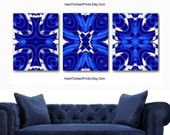 White Wall Art navy blue wall art | etsy