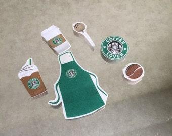 Starbucks Coffee Barista Partner Sticker Pack