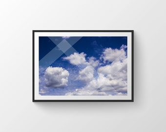 Sky Print, Clouds Print, Wall Decor, Sky Photograph Prints, Modern Prints, Sky Print Art, Clouds Print Wall Art, Photography Prints, Sky