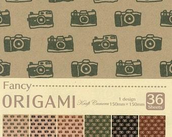 Japanese ORIGAMI paper Craft Camera Design